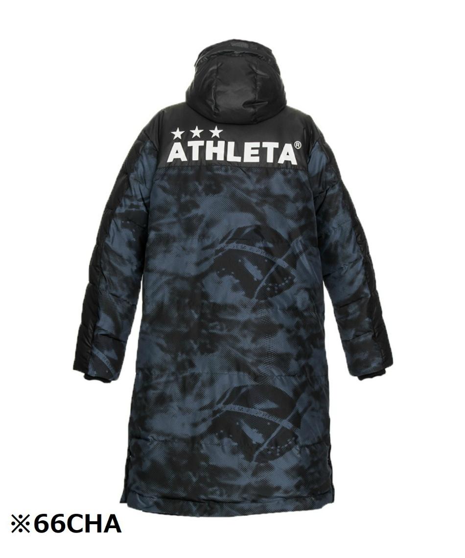 アスレタ(ATHLETA) 中綿フードベンチコート 04129J