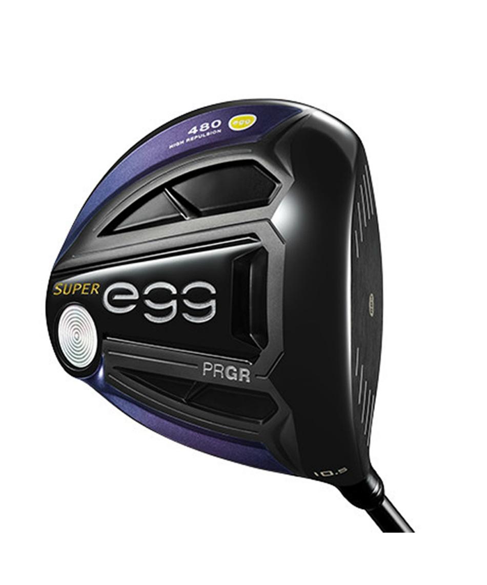 プロギア(PRGR) ゴルフクラブ ドライバー NEW SUPER egg 480 ドライバー 高反発モデル SUPER egg 2019 480 DR 【2019年モデル】