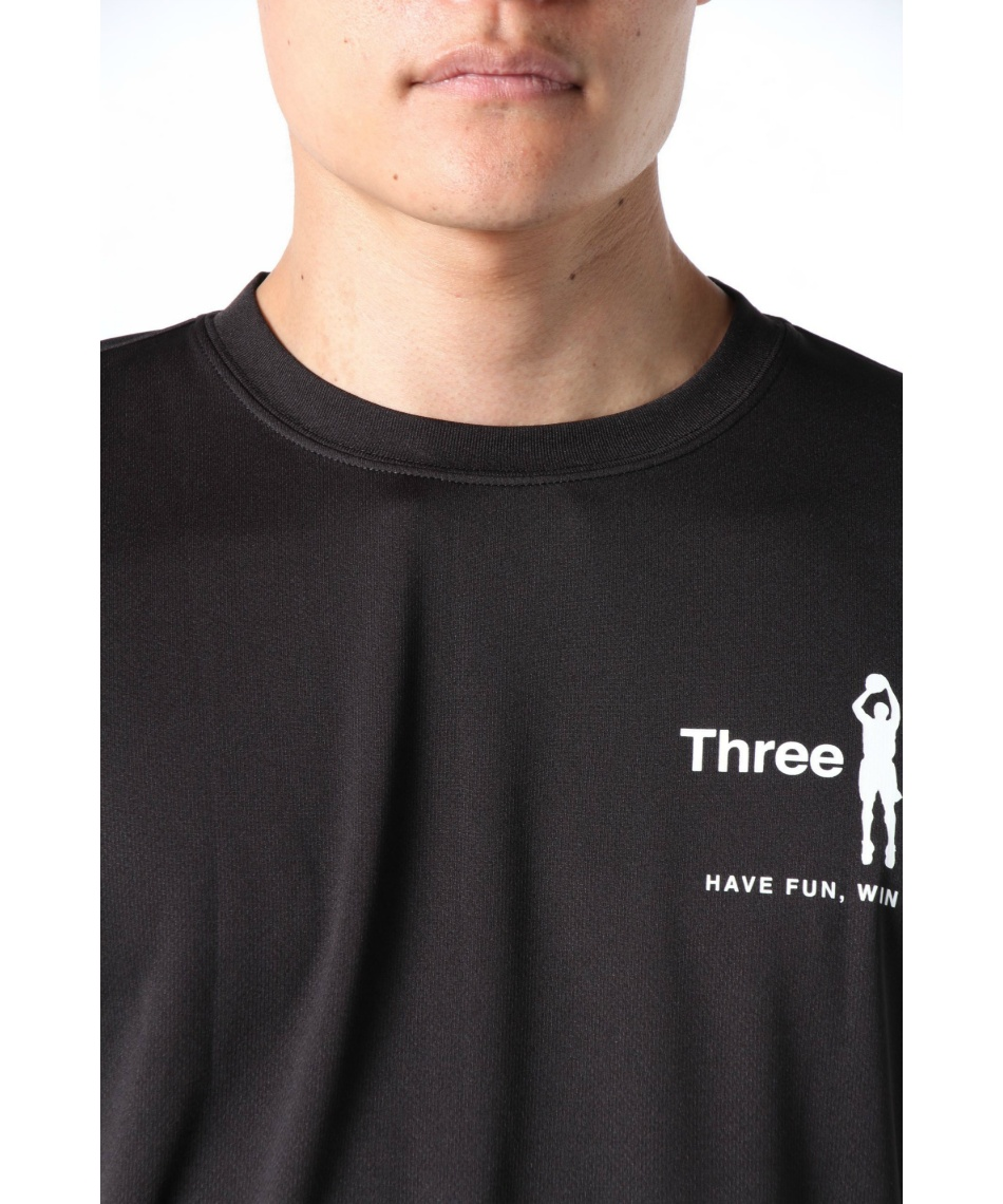 スリーポイント(ThreePoint) バスケットボール 長袖シャツ 長袖プリントTシャツ TP570414J01