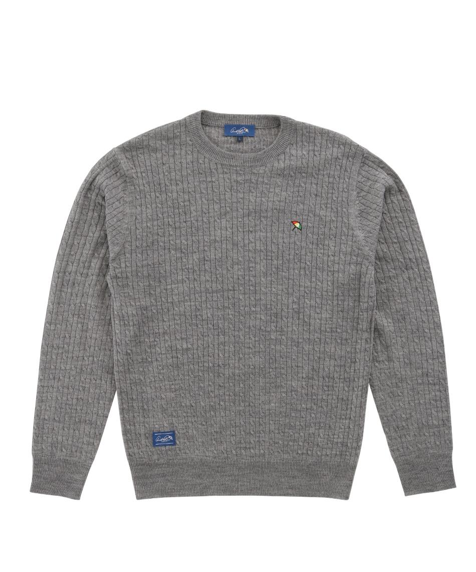 アーノルドパーマー(arnold palmer) ゴルフウェア セーター ケーブルニットセーター AP220204J01 【2020年秋冬モデル】