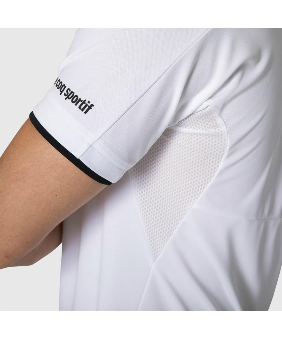 ルコック(le coq sportif) テニスウェア ゲームシャツ 半袖ポロシャツ QTMRJA40