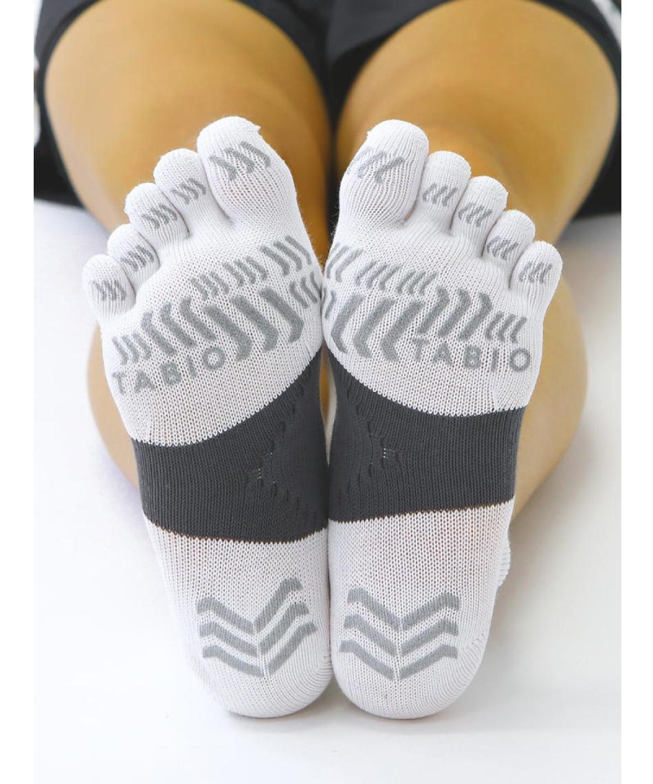 タビオ(TABIO) ショートソックス レーシングラン 五本指ソックス 071120036