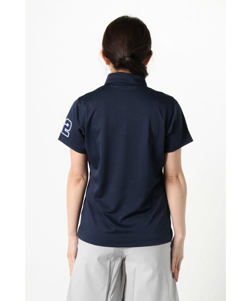 オプスト(OPST) ゴルフウェア 半袖ポロ インナーセット ワッペン半袖シャツ + 全メッシュUネック OP220301J01 + OP220310I04