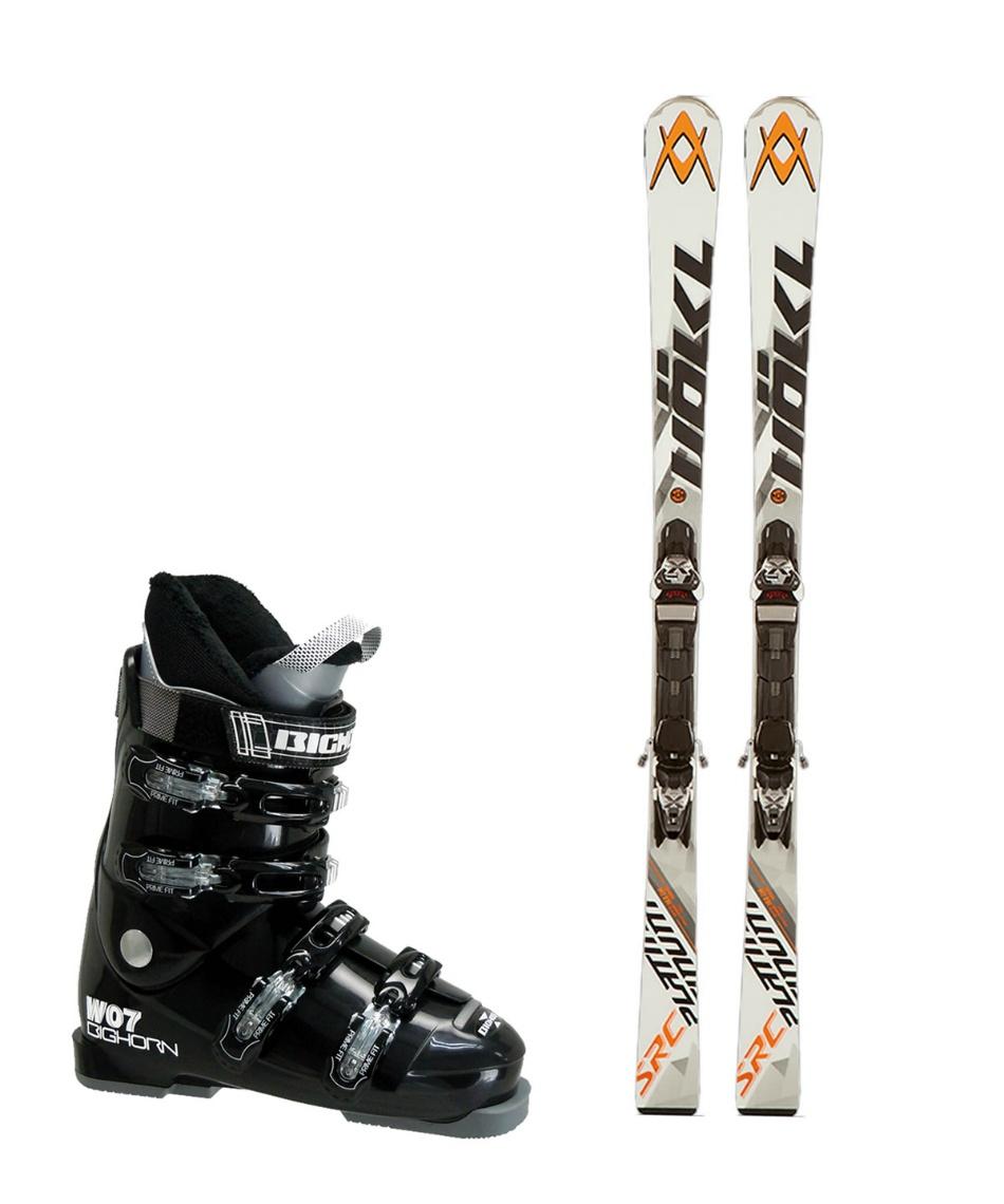 フォルクル スキー板 オールラウンド 板・金具・ブーツセット PLATINUM SRC 11.0 D + X-MOTION 11.0D + BH-W07