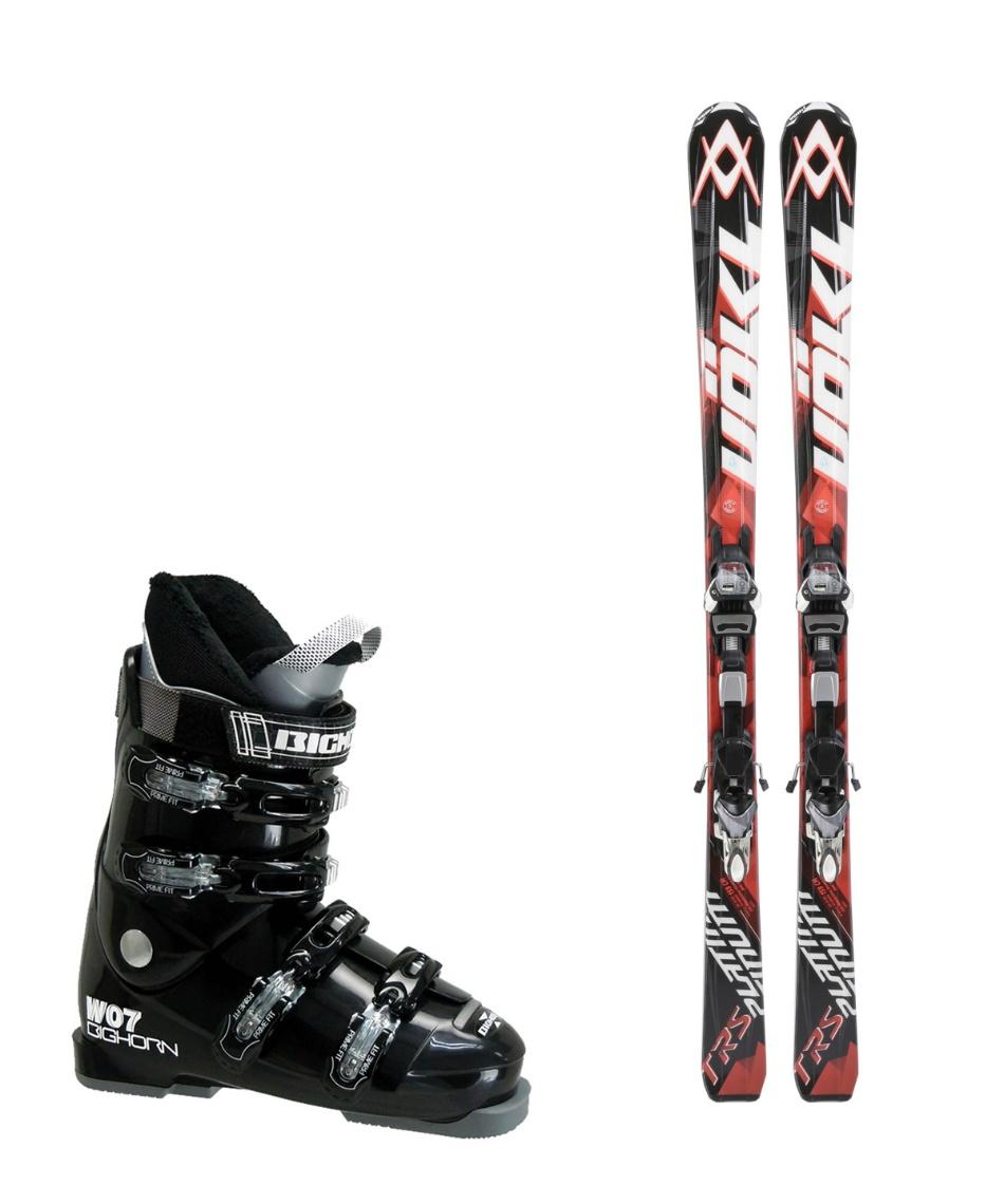 フォルクル スキー板 オールラウンド 板・金具・ブーツセット PLATINUM TRS + 4MOTION 11.0 TC D + BH-W07