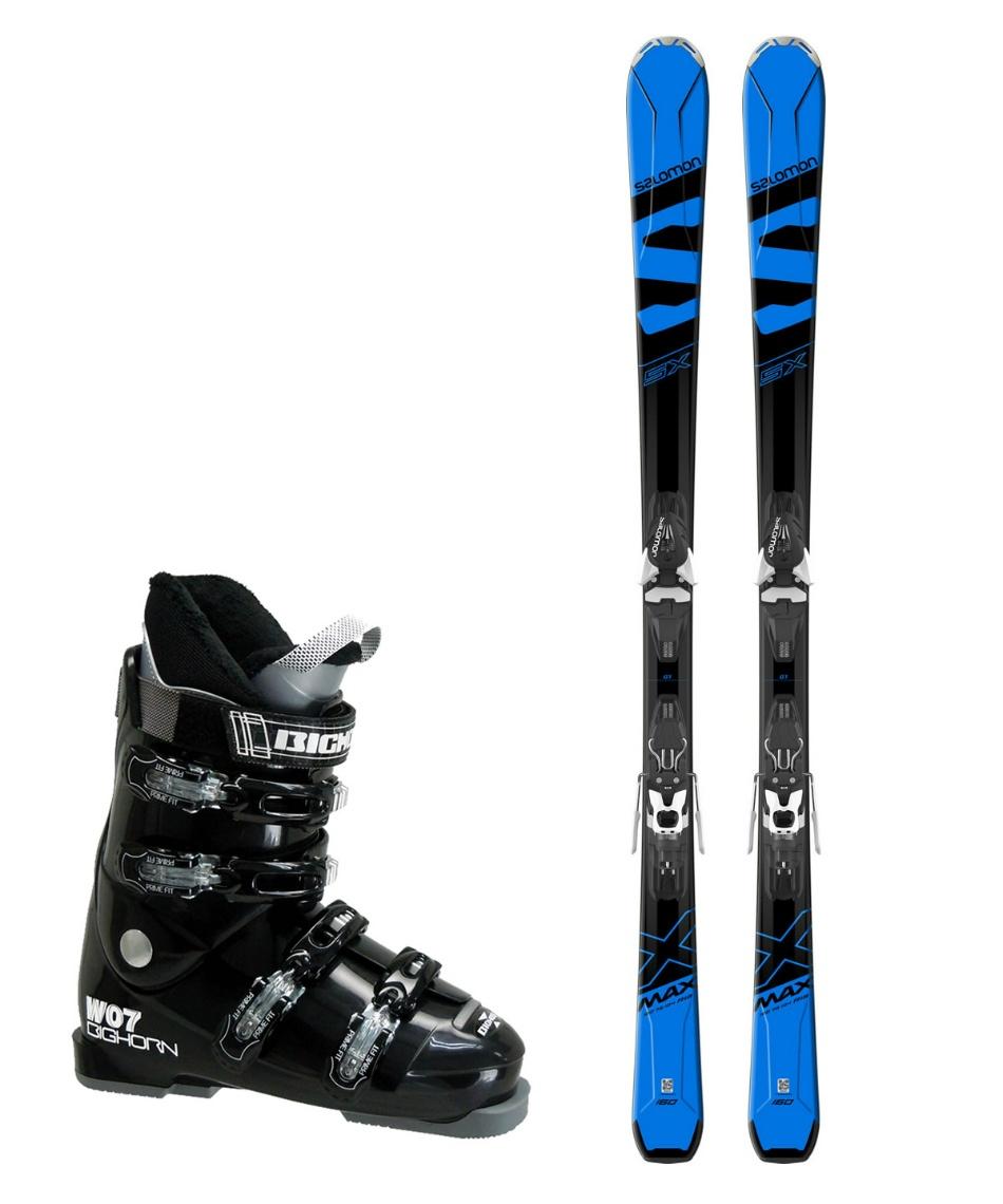 サロモン(salomon) スキー板 オールラウンド 板・金具・ブーツセット X-MAX SX +MERCURY11-18 + BH-W07