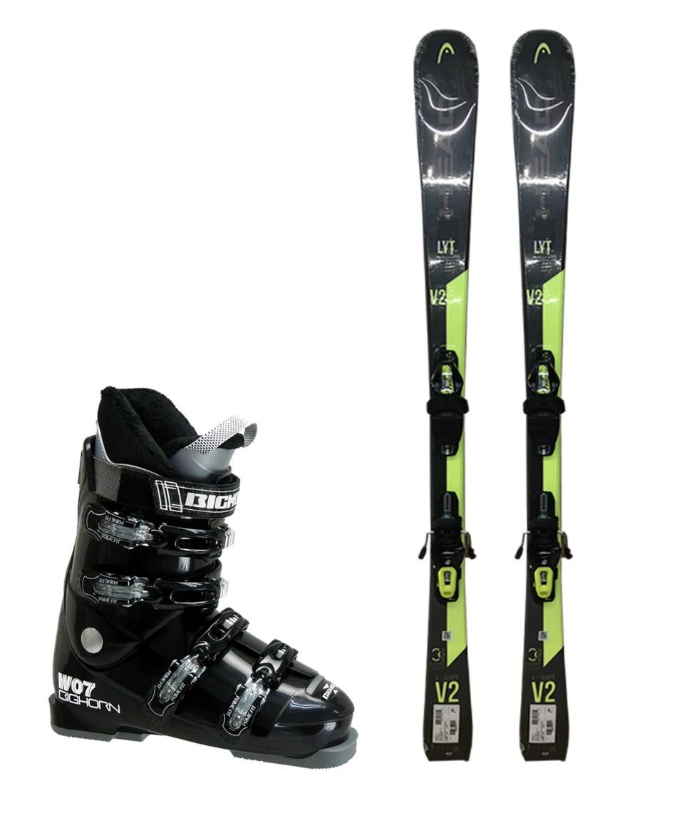 ヘッド(HEAD) スキー板 オールラウンド 板・金具・ブーツセット V-SHAPE V2 +SLR9.0 GW + BH-W07