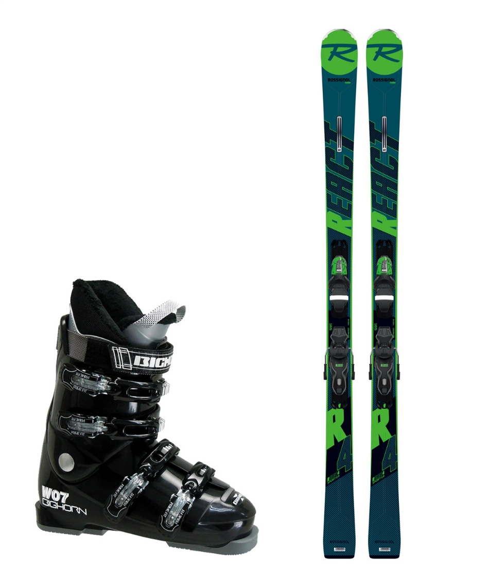 ロシニョール スキー板 オールラウンド 板・金具・ブーツセット REACT R4 SP CA +XPRESS10 B83 + BH-W07
