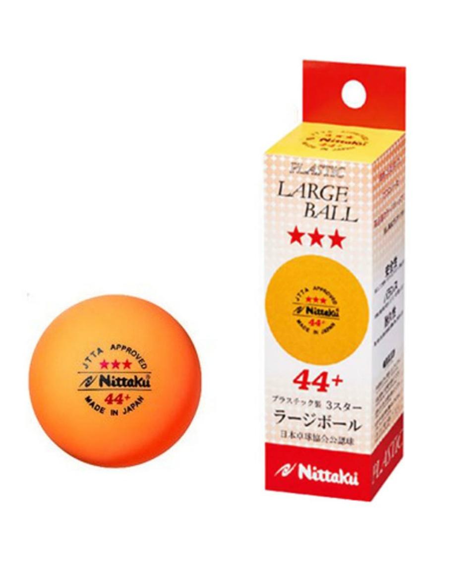 ニッタク(Nittaku) 卓球ボール ラージボール44プラ 3スター NB-1010 WH
