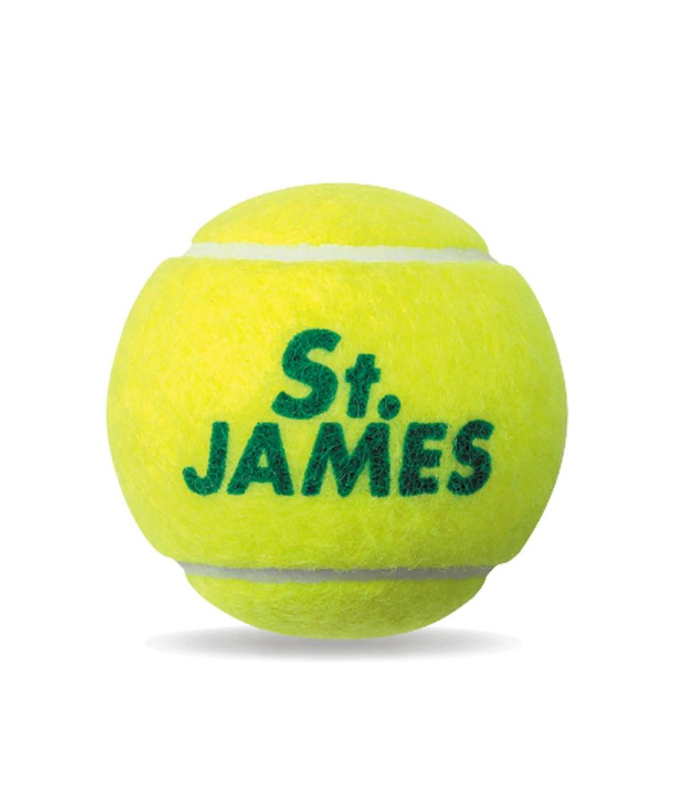 ダンロップ ( DUNLOP )  硬式テニスボール 1缶(4球) STJAMES  STJAMES I (4) TIN セントジェームス
