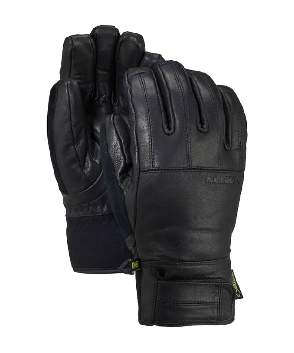 バートン(BURTON) スノーボードグローブ ゴアテックス レザーグローブ 5本指 Gondy Leather Glove 103261 001 タッチスクリーン対応