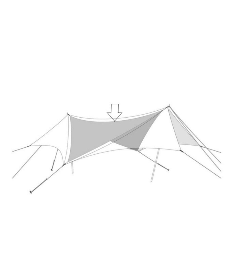 スノーピーク(snow peak) タープ Tarp HDタープヘキサエヴォPro.TAKIBIインナールーフ タキビ TP-250IR