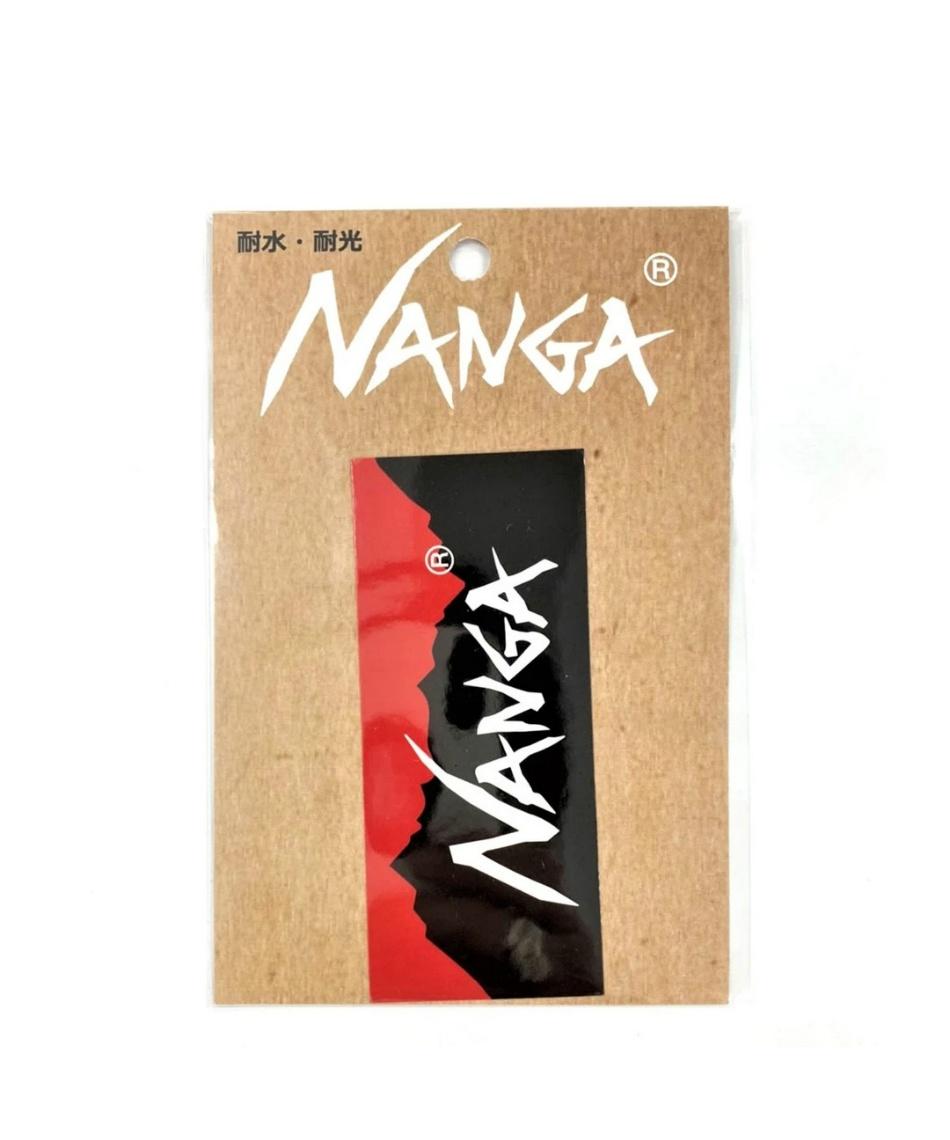 ナンガ(NANGA) ステッカー ナンガロゴステッカー NANGA LOGO STICKER NANGAステッカー