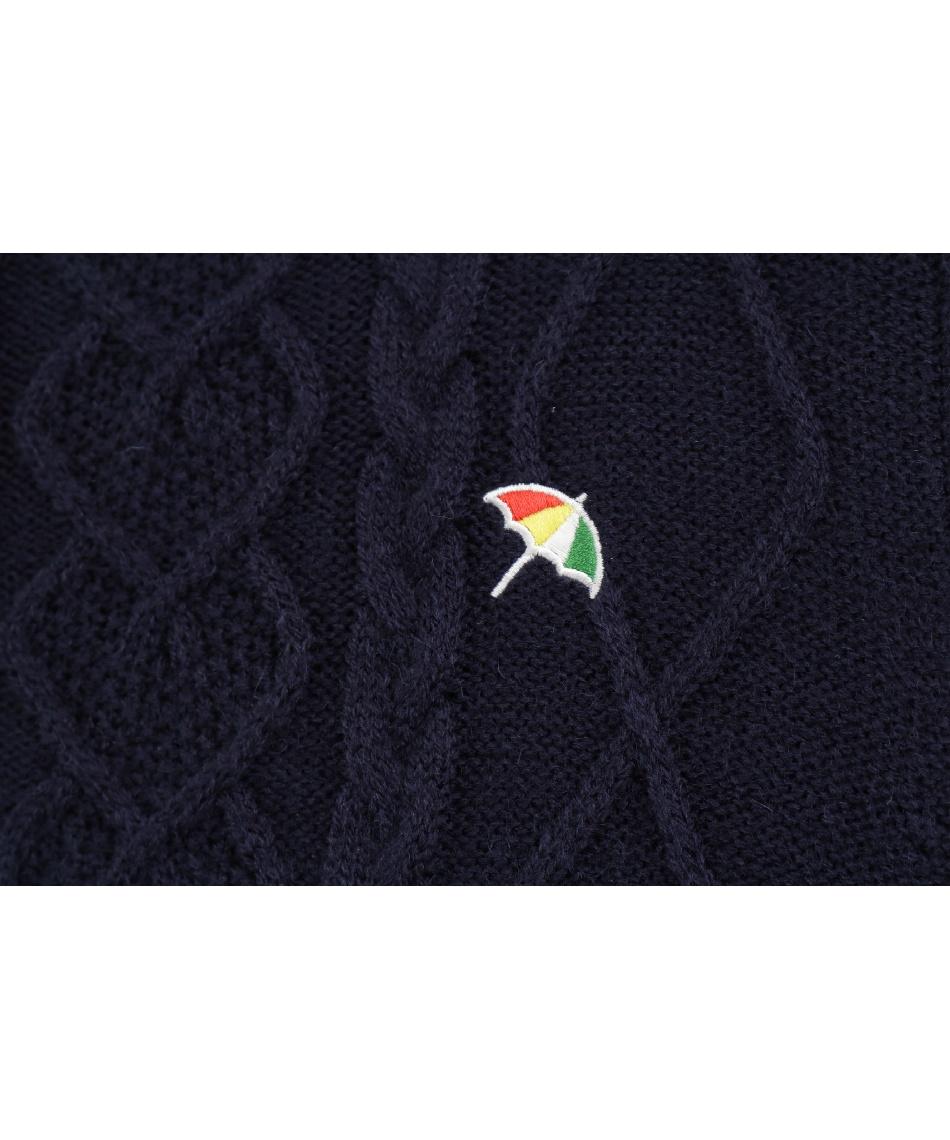 アーノルドパーマー(arnold palmer) ゴルフウェア ワンピース ニットワンピース AP220412J02 【2020年秋冬モデル】