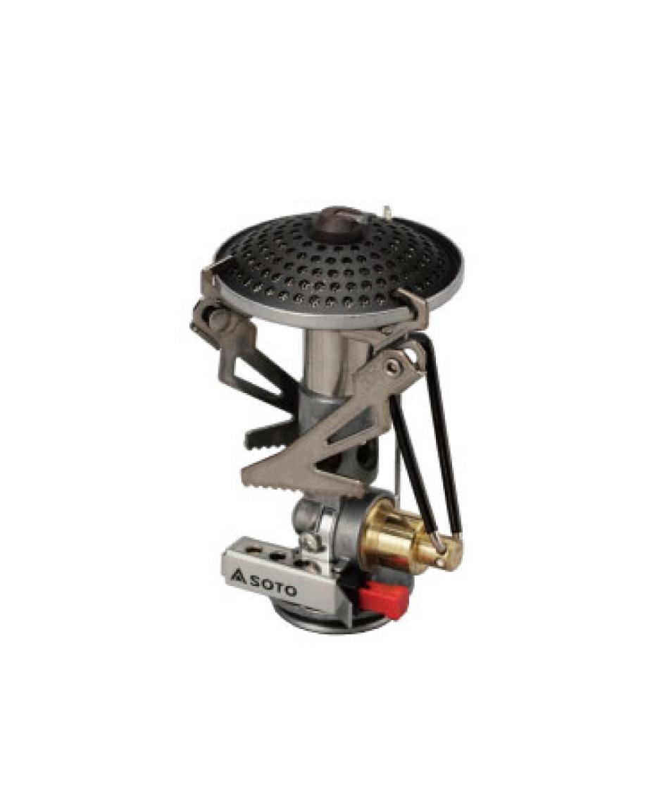 ソト(SOTO) シングルバーナー マイクロレギュレーターストーブ SOD-300S 【専用収納袋付き】