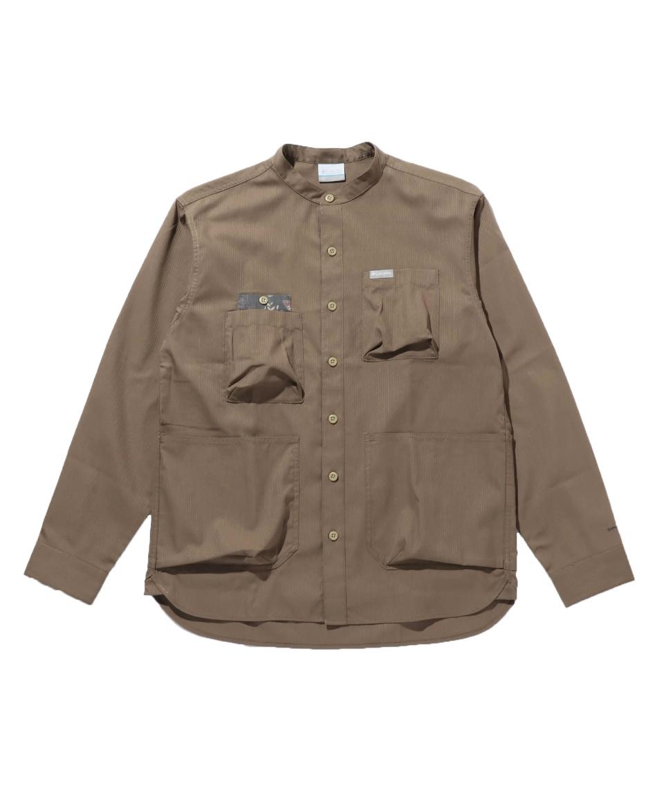 コロンビア(Columbia) 長袖シャツ ヒューソンパークロングスリーブシャツ PM0068 252 【国内正規品】