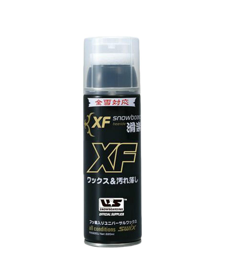スウィックス(SWIX) 簡易ワックス フッ素エアゾール220ml XF0220J