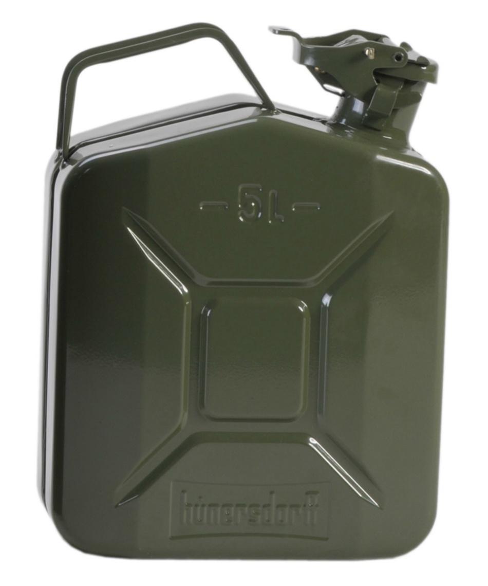 ヒューナースドルフ (HUNERSDORFF) ポリタンク MetalKanister CL 5L 434400