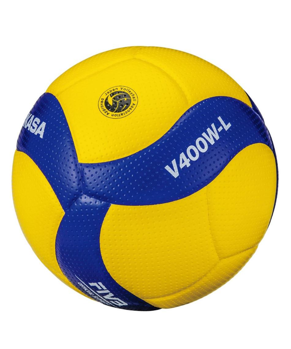 ミカサ(MIKASA) バレーボール 軽量4号球 小学生 検定球 V400W-L