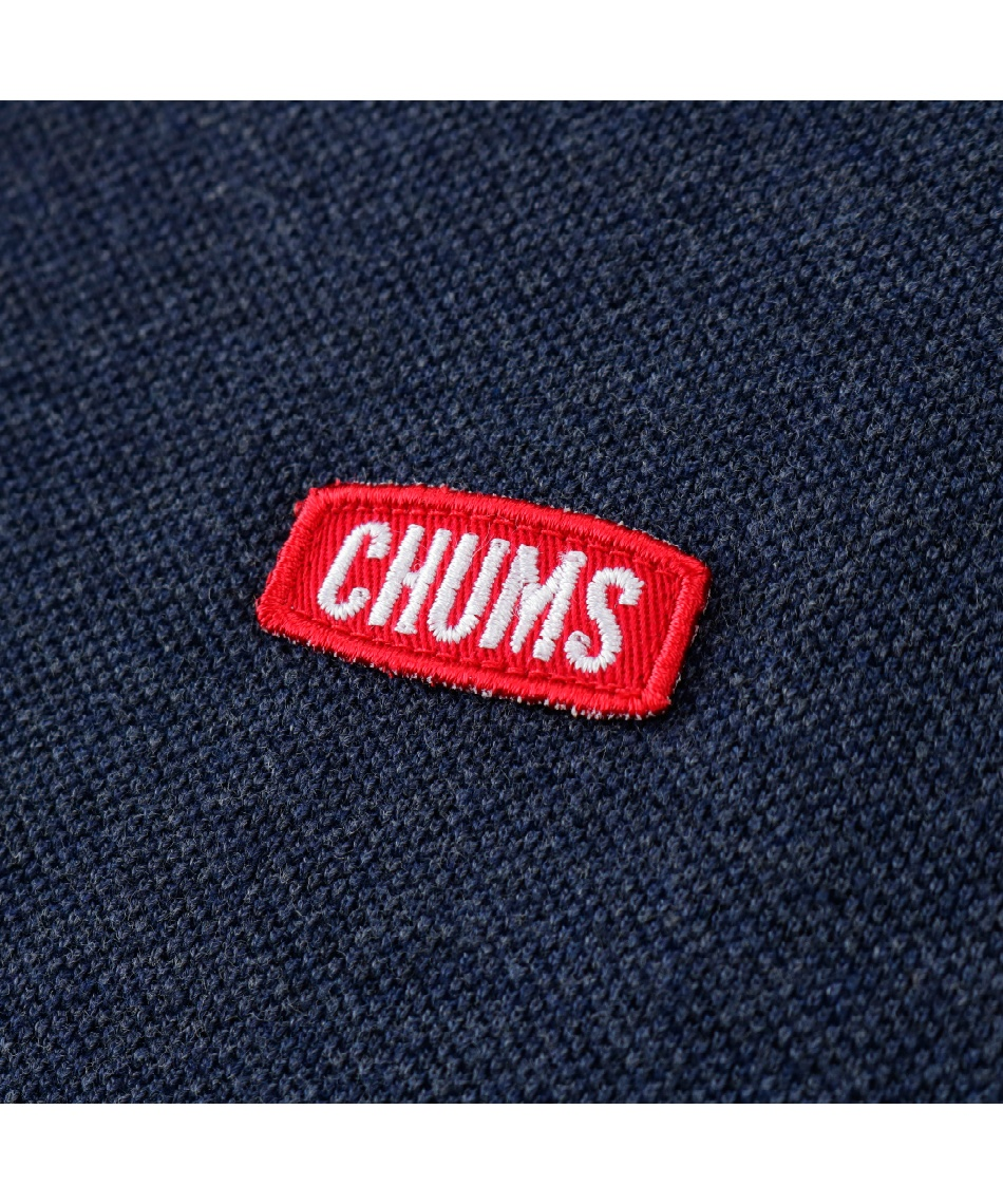 チャムス(CHUMS) 半袖シャツ ボートロゴショール Himaraya Boat Logo Shawl Polo CH02-1131
