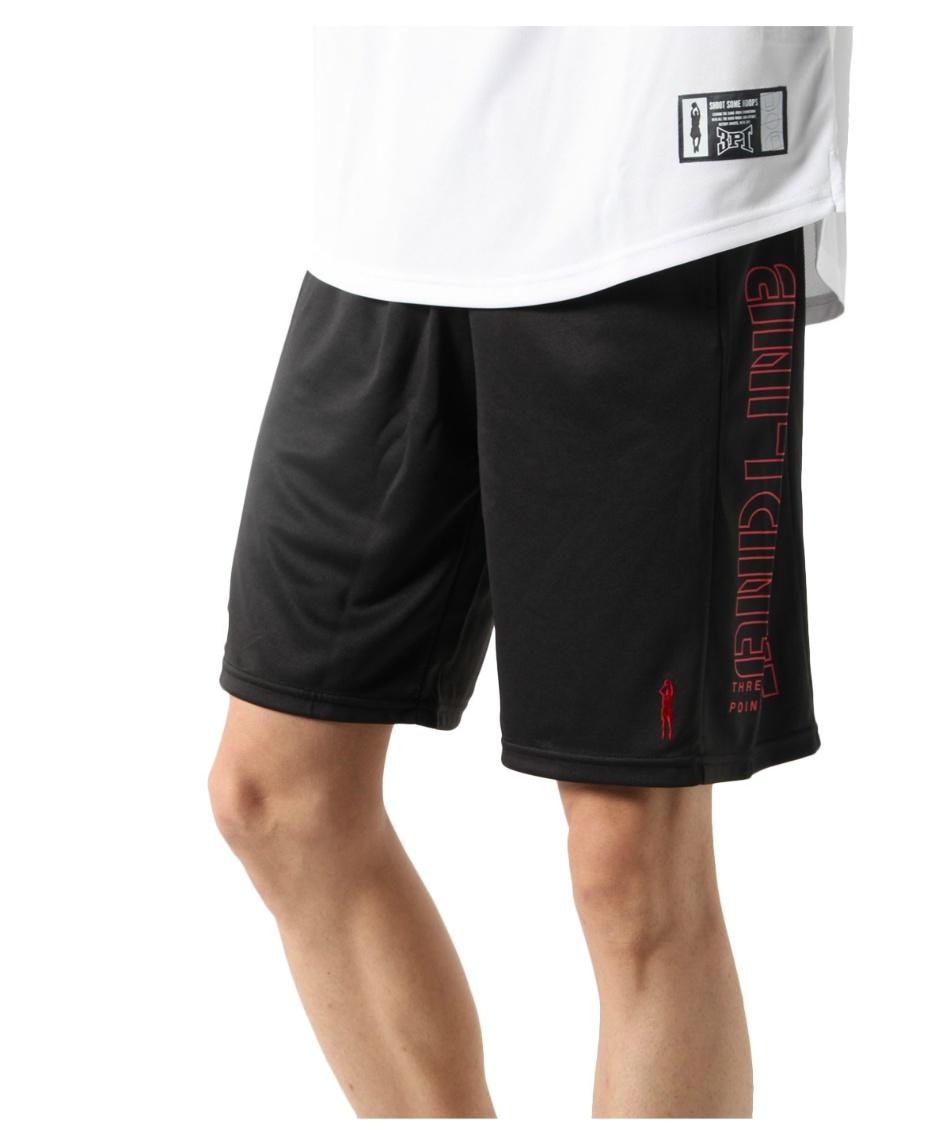 スリーポイント(ThreePoint) バスケットボール ハーフパンツ バスケメッシュプリントパンツ TP570406J02