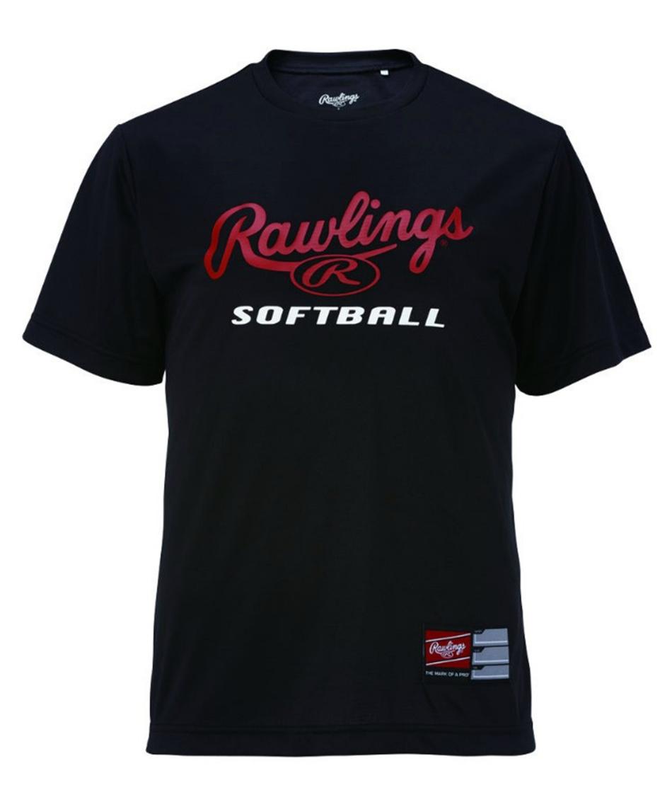 ローリングス(Rawlings) 野球ウェア 半袖Tシャツ プレーヤーSOFTBALL Tシャツ ウィメンズ ASTW10S03