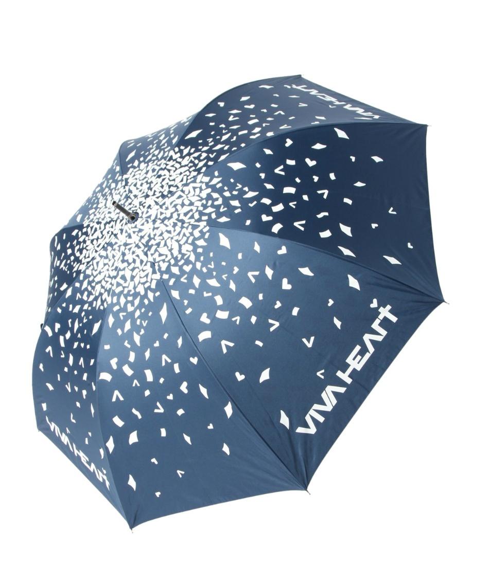 ビバハート(VIVA HEART) ゴルフ 傘 紙吹雪晴雨兼用パラソル 013-92461