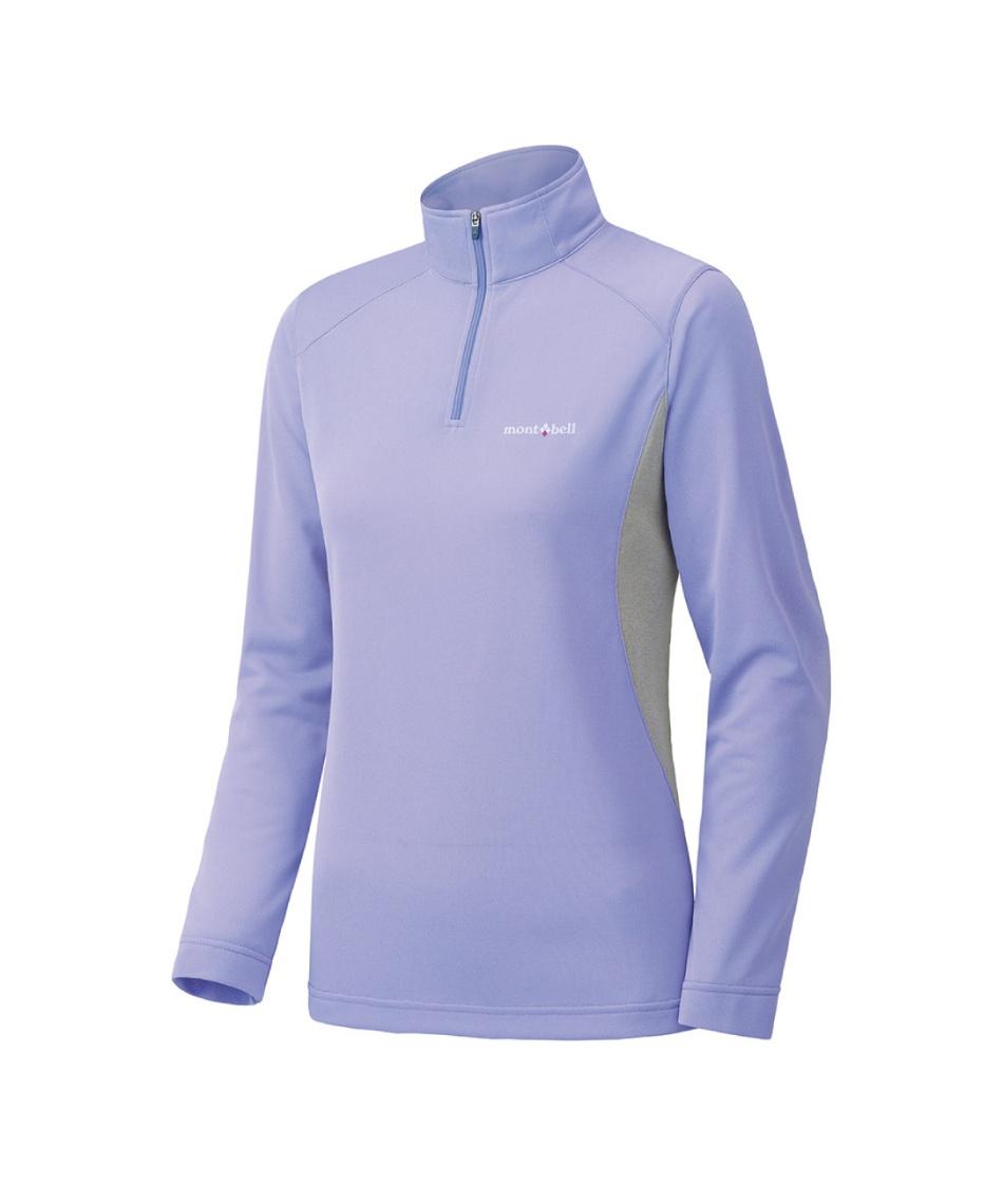 長袖シャツ ウイックロン ZEO ロングスリーブ ジップシャツ Women's 1104941 LVBL