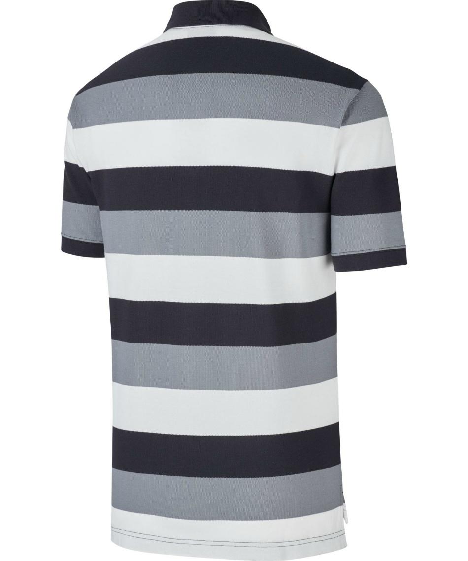 ナイキ(NIKE) ポロシャツ 半袖 ストライプポロ CJ4466-010