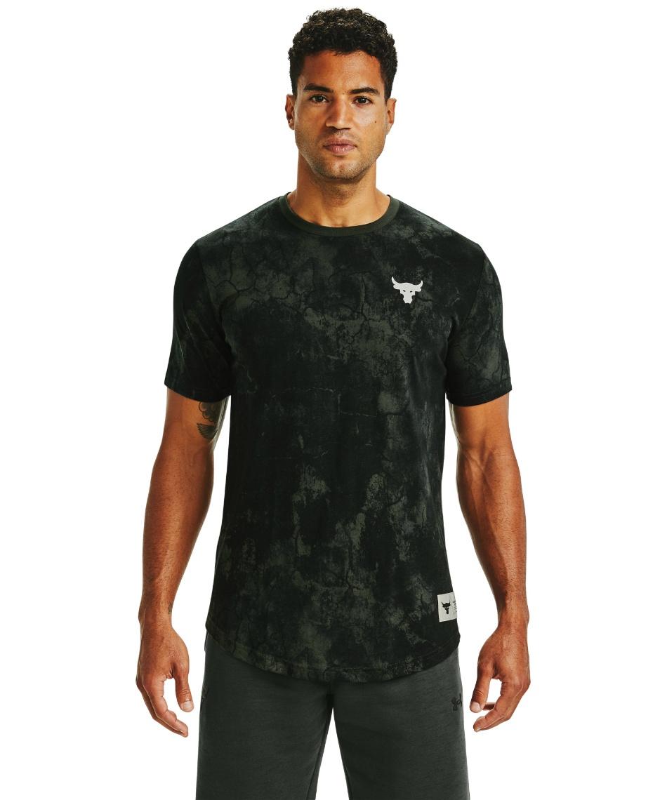 アンダーアーマー(UNDER ARMOUR) Tシャツ 半袖 UA PJT ROCK ALLOVER PRINT SS 1357187-310