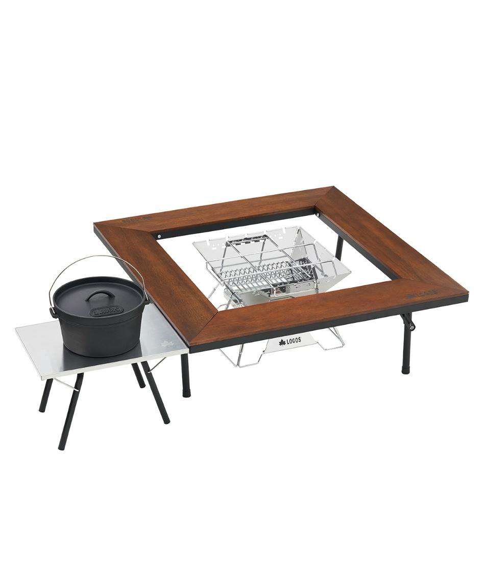 ロゴス(LOGOS) アウトドアテーブル 小型テーブル たき火ステンテーブル 73173158