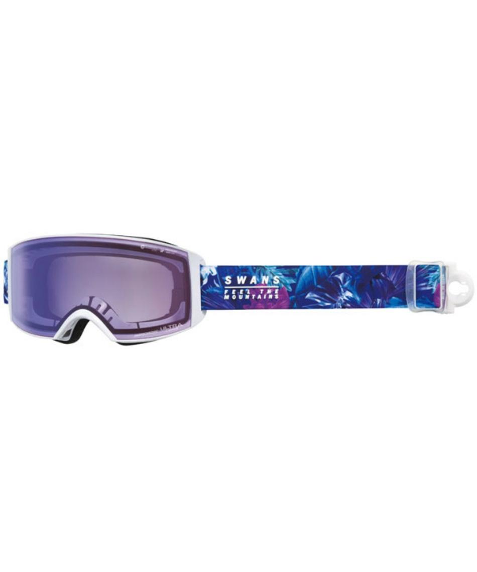 スワンズ(SWANS) スキー スノーボードゴーグル 眼鏡対応 ULTRA調光レンズ メガネ対応 ラカン RACAN-MDH-CU 【20-21 2021年モデル】