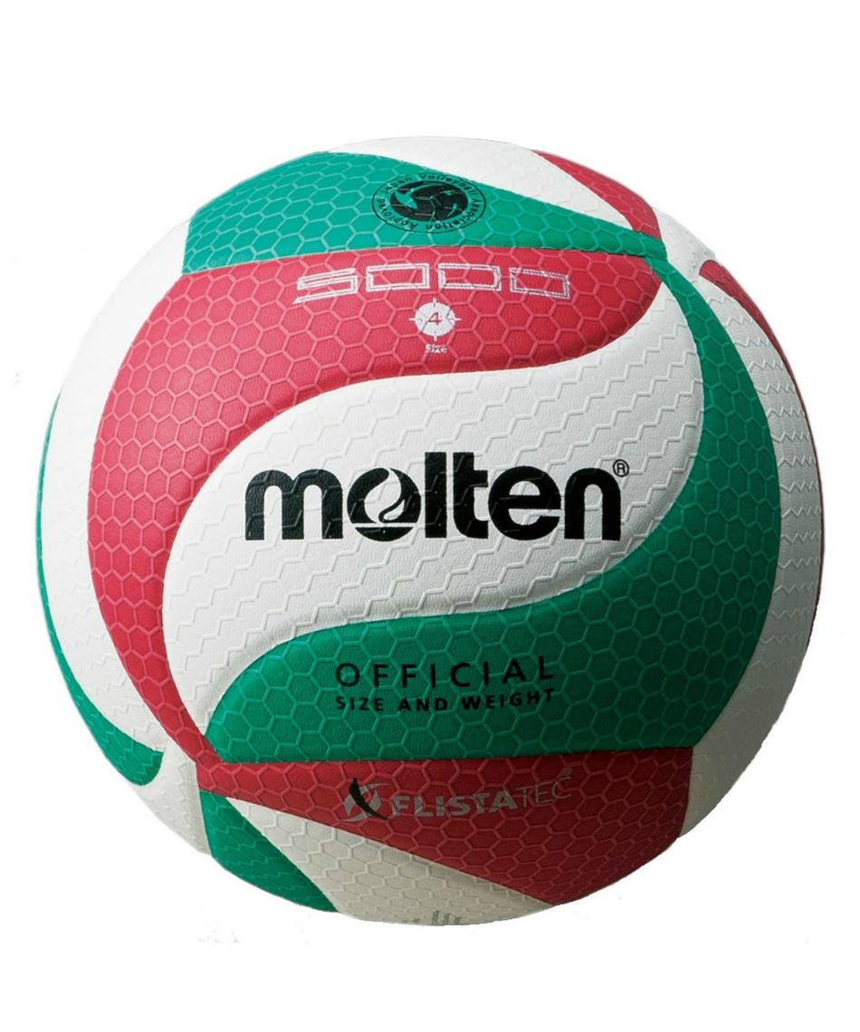 モルテン(molten) バレーボール 4号球 フリスタテック 検定球 中学 婦人用 V4M5000
