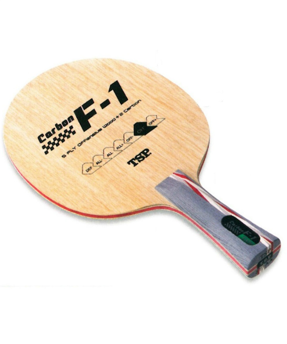 ティーエスピー ( TSP )  卓球ラケット シェークタイプ カーボンF‐1FL 26024