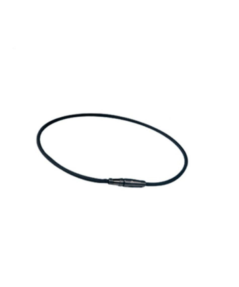 ファイテン(phiten) ネックレス RAKUWAネックX100 リーシュモデル ブラック(50cm) TG230153