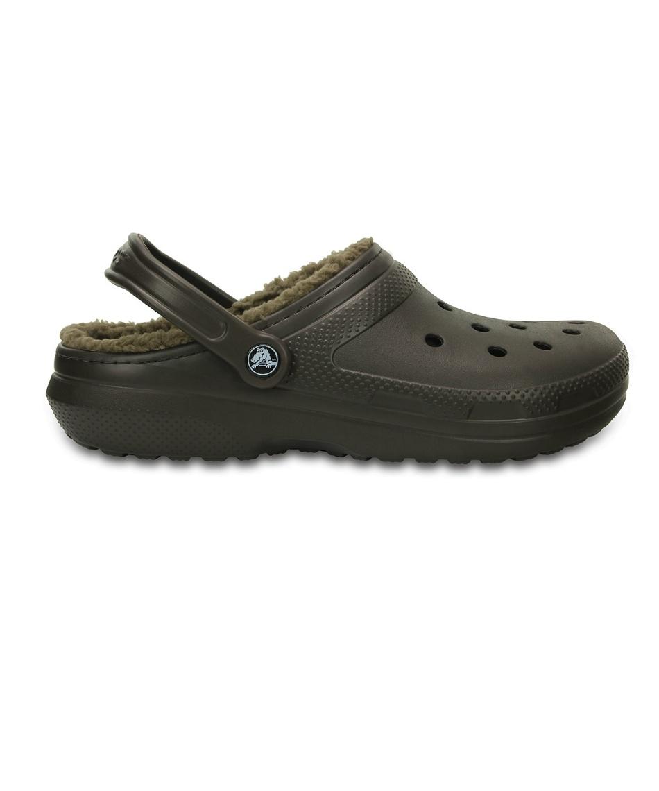 クロックス ( crocs )  サンダル classic lined clog ( クラシック ラインド クロッグ ) 203591 【国内正規品】