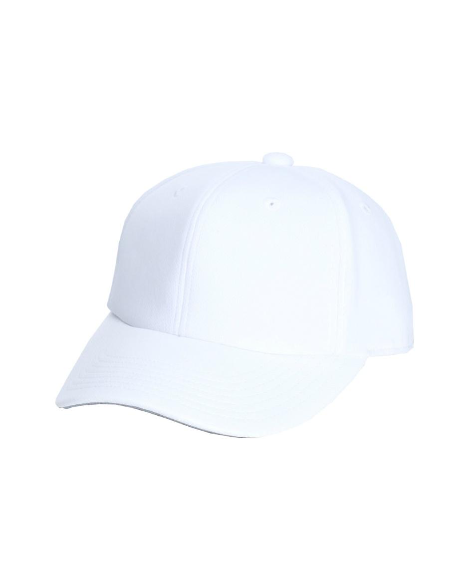 ミズノ ( MIZUNO )  野球 練習用帽子 キャップ 白 12JW8B0501