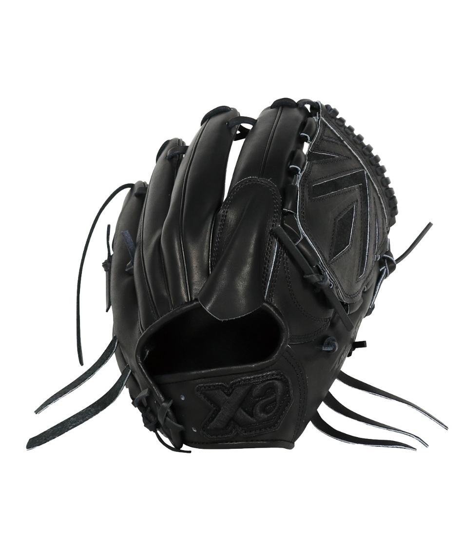 ザナックス(XANAX) 野球 硬式グローブ 投手用 トラスト ブラック ライン BLACK LINE BHG-12618S
