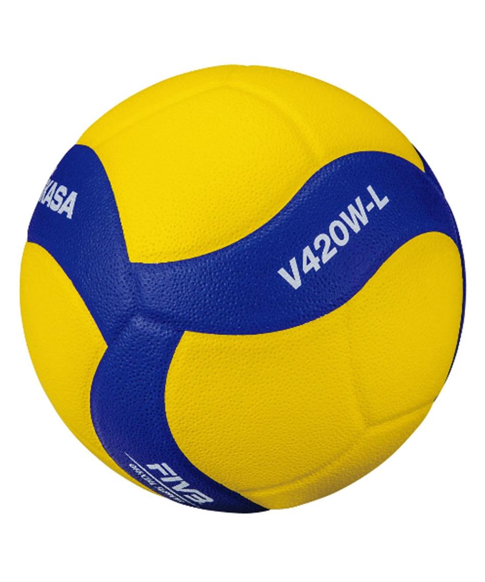 ミカサ(MIKASA) バレーボール 軽量4号球 小学生 練習球 V420W-L