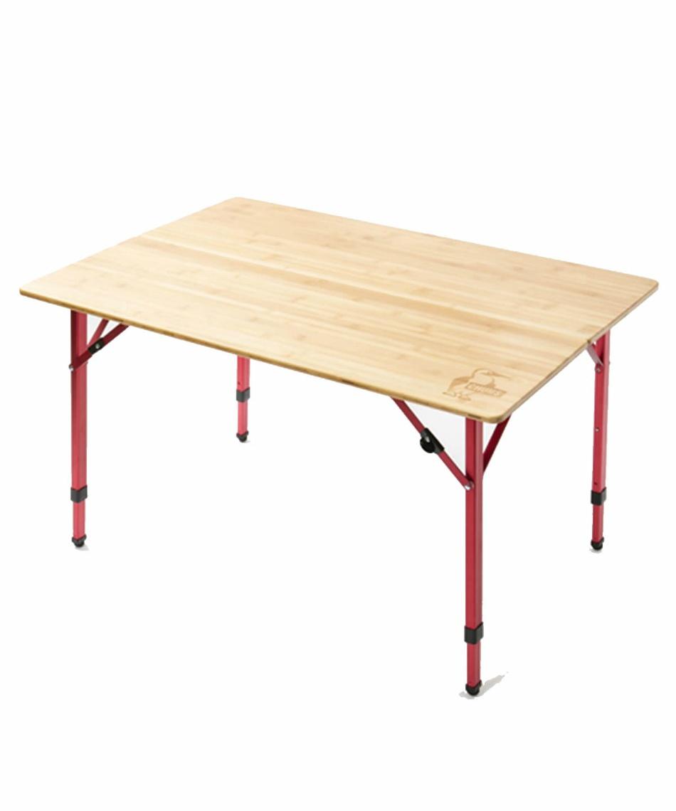 チャムス(CHUMS) アウトドアテーブル 100cm バンブーテーブル100 CH62-1361