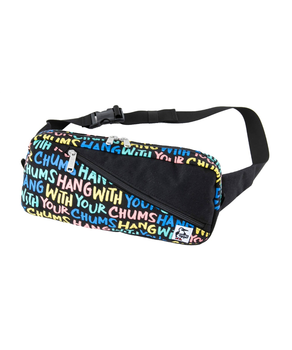 チャムス(CHUMS) ウエストバッグ スクエア ウエストバッグスエットナイロン ボディバッグ ショルダーバッグ CH60-2811