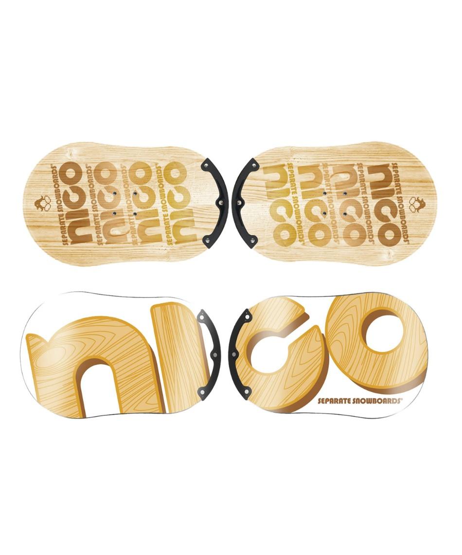 ニコ(NICO) スノーボード 板 スタンダード ガード STANDARD GUARD 【19-20 2020モデル】
