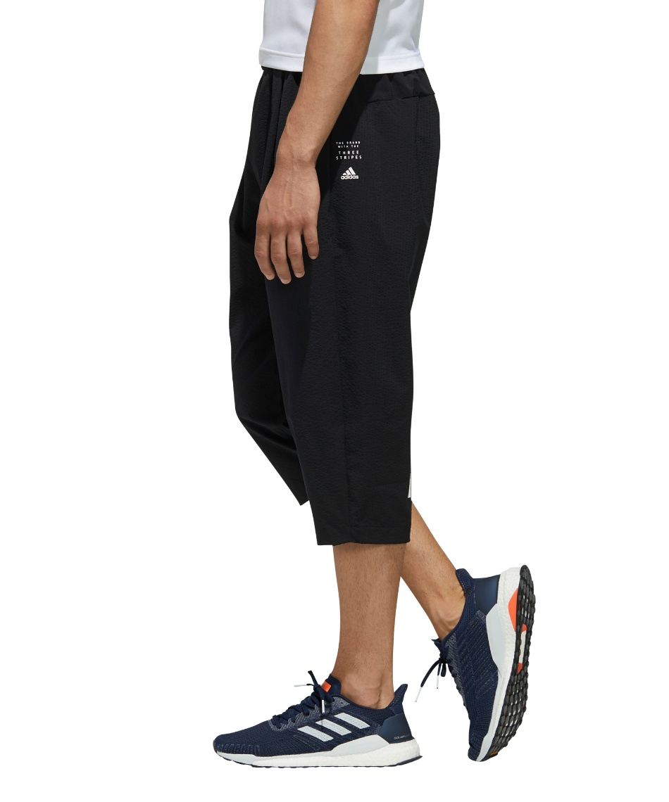 アディダス(adidas) 7分丈パンツ TEC シアサッカー 7/8 パンツ GUN95