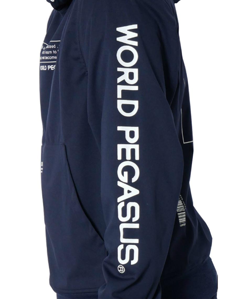 ワールドペガサス(WORLD PEGASUS) 野球 スウェットパーカー 防風・撥水フーデットパーカー プルオーバー WAP101