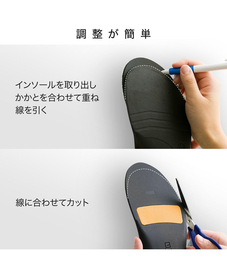 ザムスト(ZAMST) インソール Footcraft Cushioned for SPORTS フットクラフトクッション スポーツ 379713