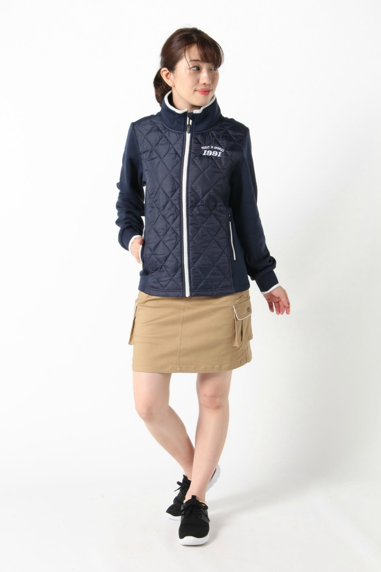 オプスト(OPST) ゴルフウェア ブルゾン キルトハイブリッドジャケット OP220406J02 【2020年秋冬モデル】