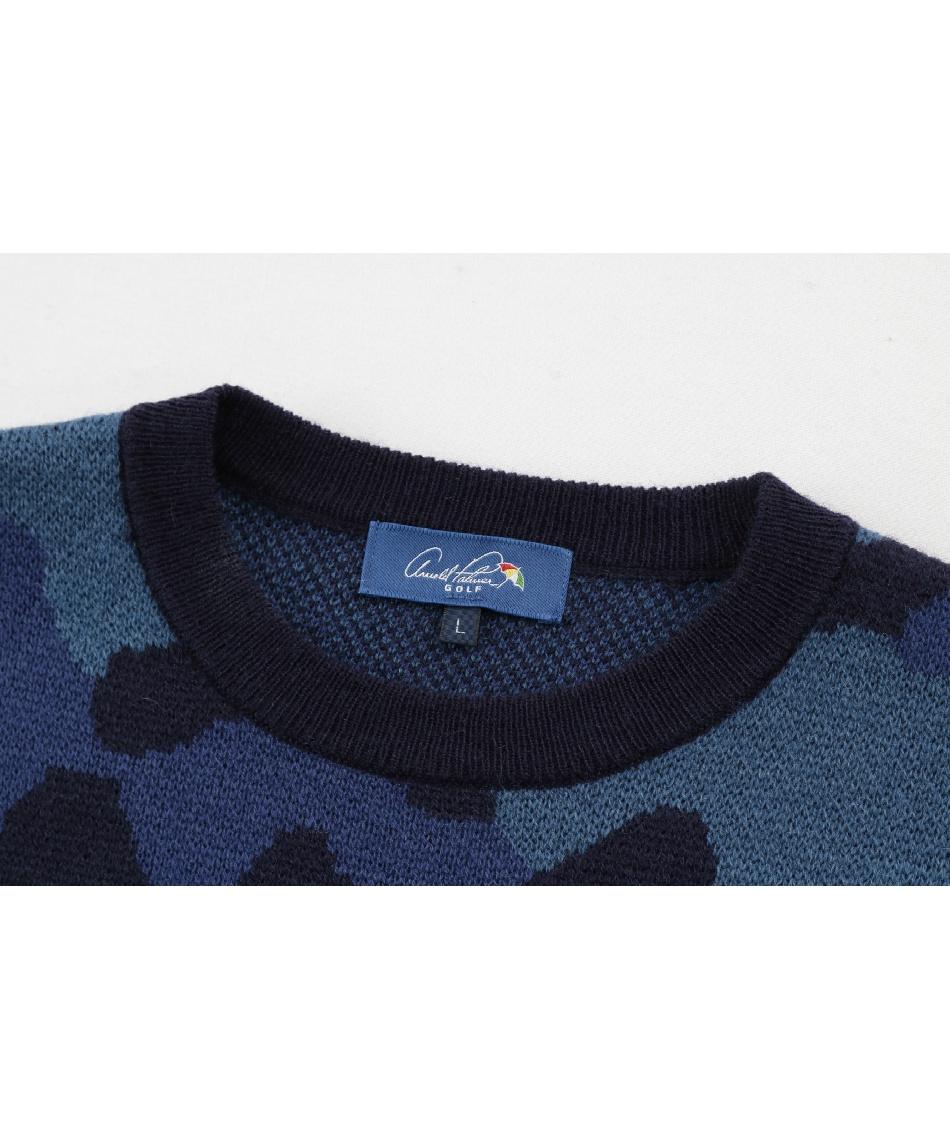アーノルドパーマー(arnold palmer) ゴルフウェア セーター カモフラジャガードセーター AP220204J04 【2020年秋冬モデル】