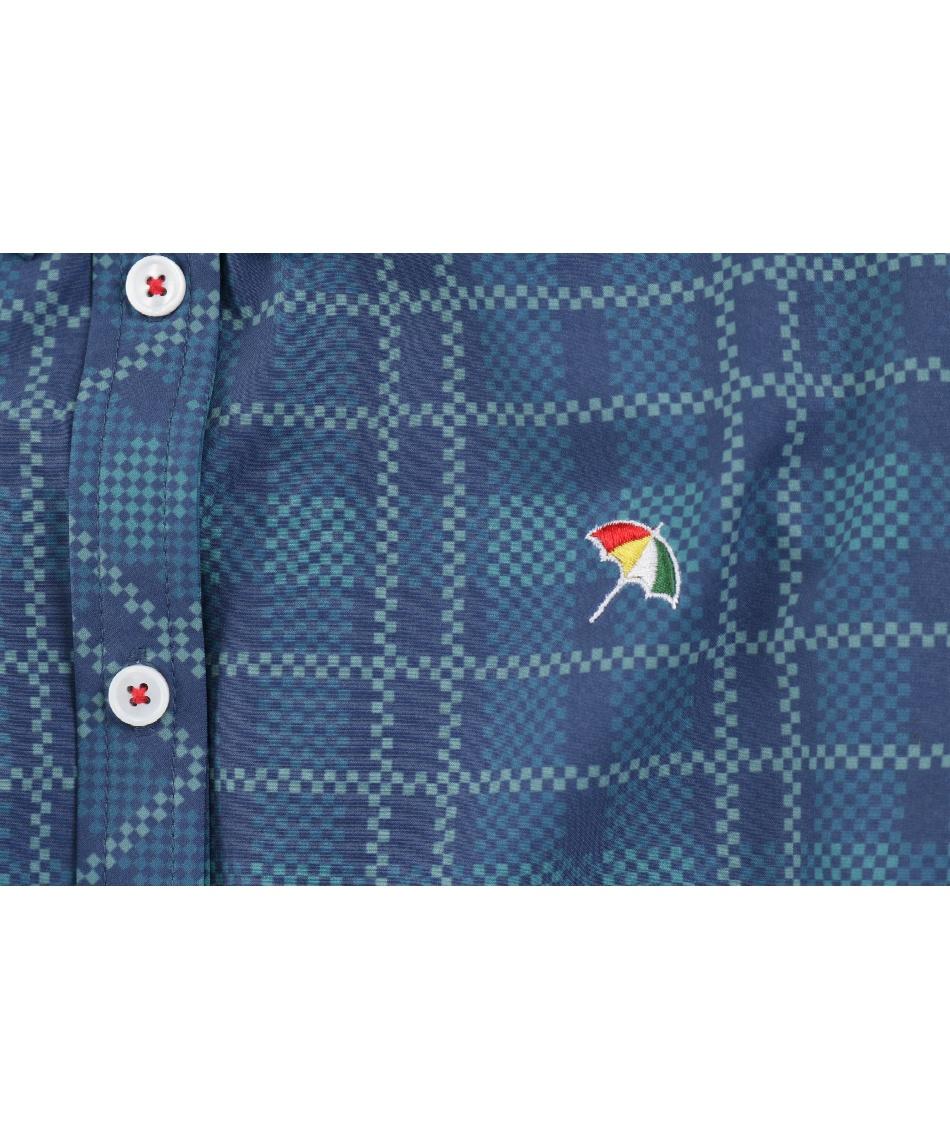 アーノルドパーマー(arnold palmer) ゴルフウェア 長袖シャツ チェック柄長袖シャツ AP220402J03 【2020年秋冬モデル】
