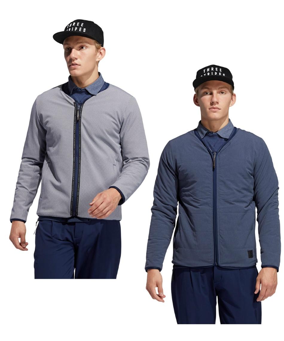 アディダス(adidas) ゴルフウェア ブルゾン アディクロス リバーシブル長袖ジャケット INS92 【国内正規品】【2020年秋冬モデル】