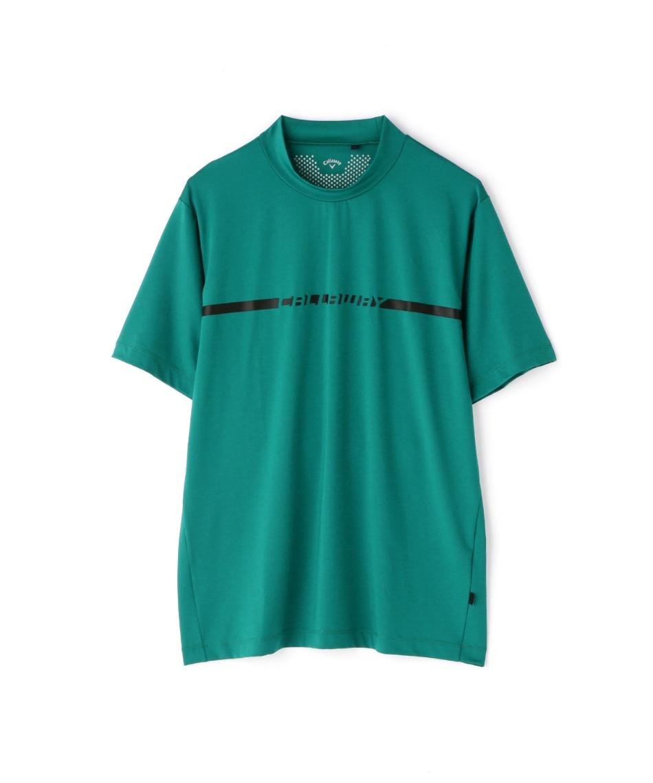 キャロウェイ(Callaway) ゴルフウェア 半袖シャツ 半袖モックネックシャツ 2411134505 【国内正規品】【2021年春夏モデル】